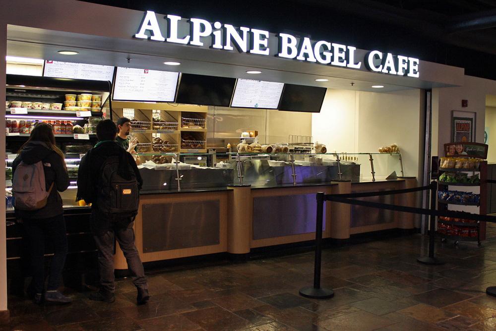 Alpine Bagel Cafe - UNC Chapel Hill, NC - Advance Signs & Service