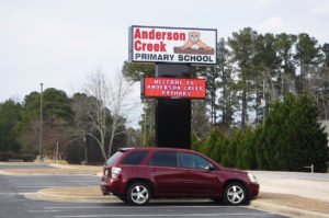 Anderson Creek Primary - Bunnlevel, NC - Advance Signs & Service