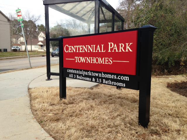 Centennial Park Townhomes - Raleigh, NC - Advance Signs & Service