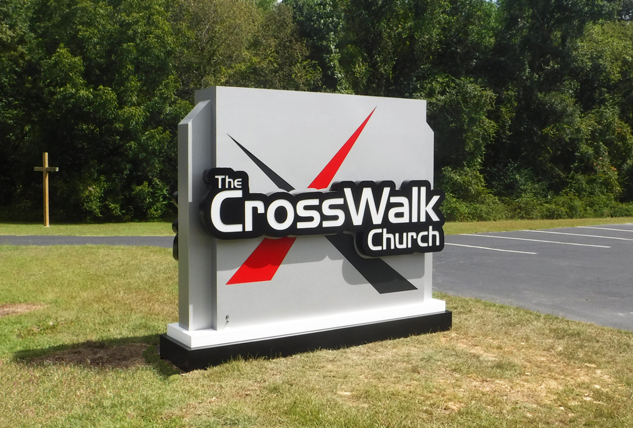 Crosswalk Church - Angier, NC - Advance Signs & Service