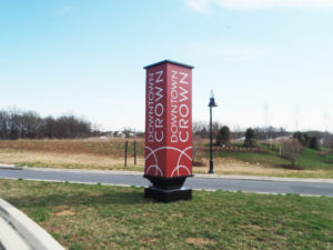 Downtown Crown – Gaithersburg, Maryland - Advance Signs & Service