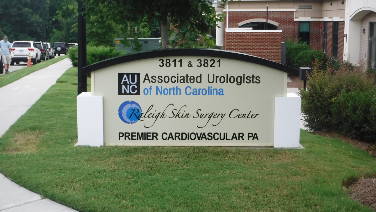 ED Drive Medical Complex - Raleigh, NC - Advance Signs & Service