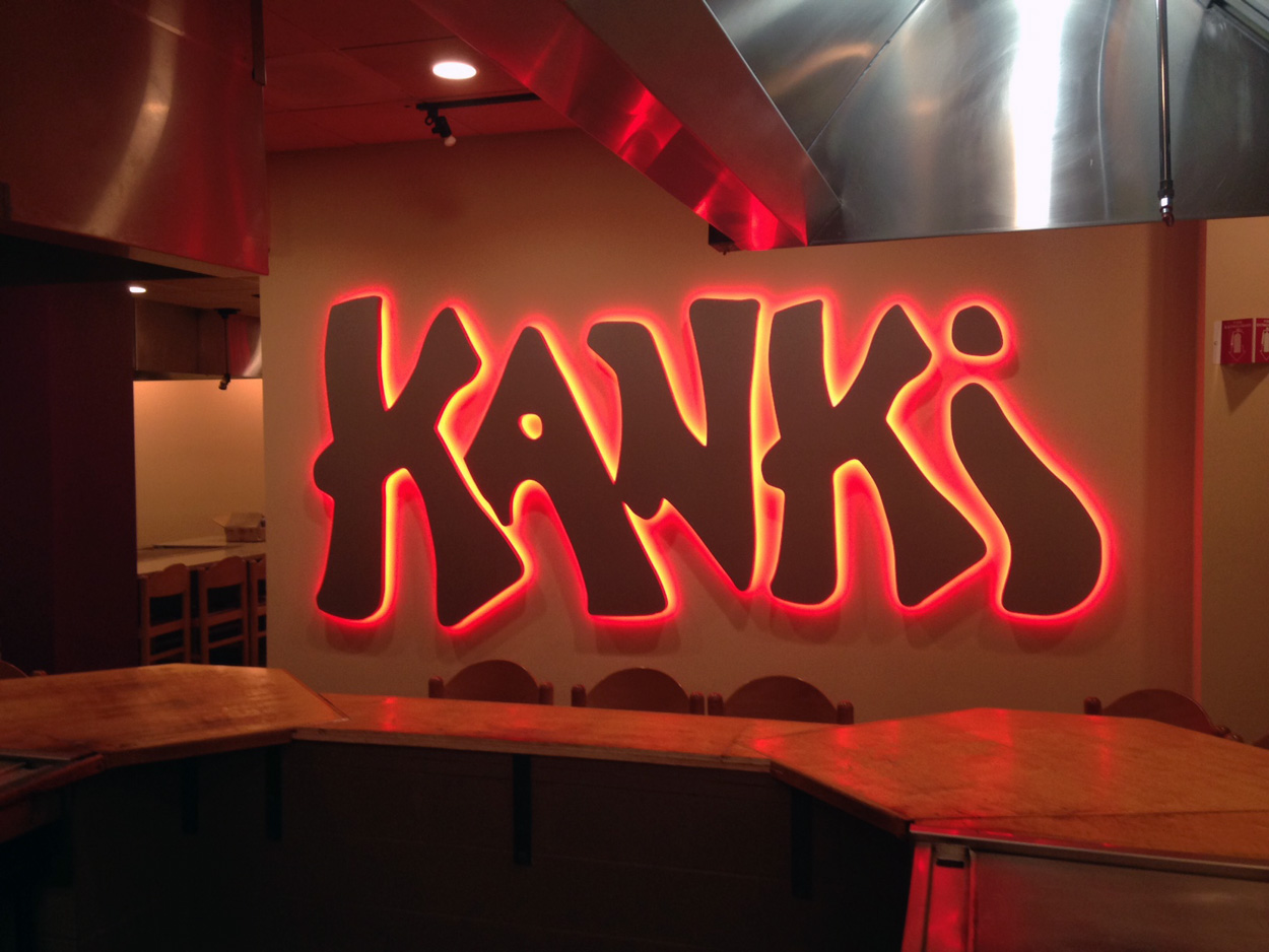 Kanki - Crabtree Valley Mall - Raleigh, NC - Advance Signs & Service