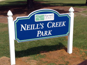 Neill's Creek Park – Angier, NC - Advance Signs & Service