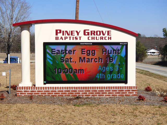 Piney Grove Baptist Church – Fuquay-Varina, NC - Advance Sings & Service
