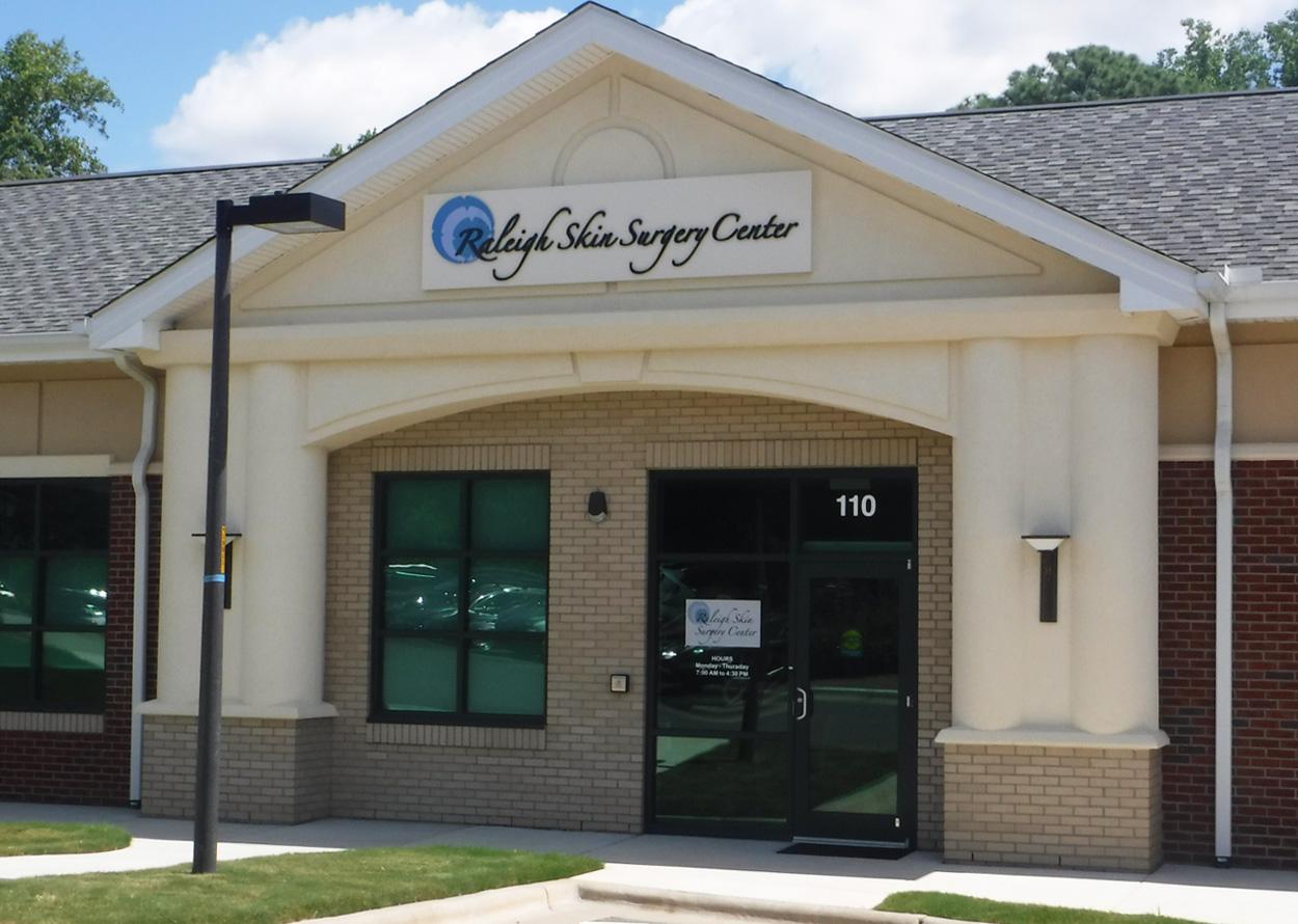 Raleigh Skin Surgery Center - Raleigh, NC - Advance Signs & Service