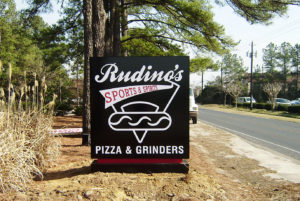 Rudino's – Southern Pines, NC - Advance Signs & Service