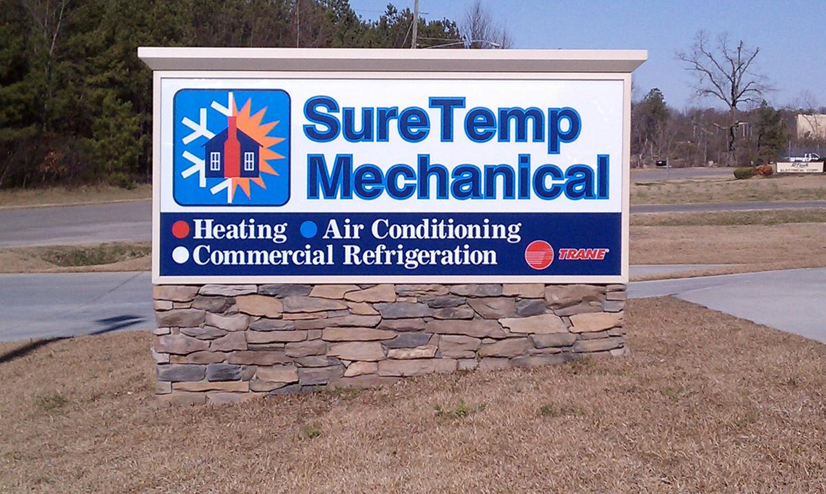 SureTemp Mechanical - Sanford, NC - Advance Signs & Service