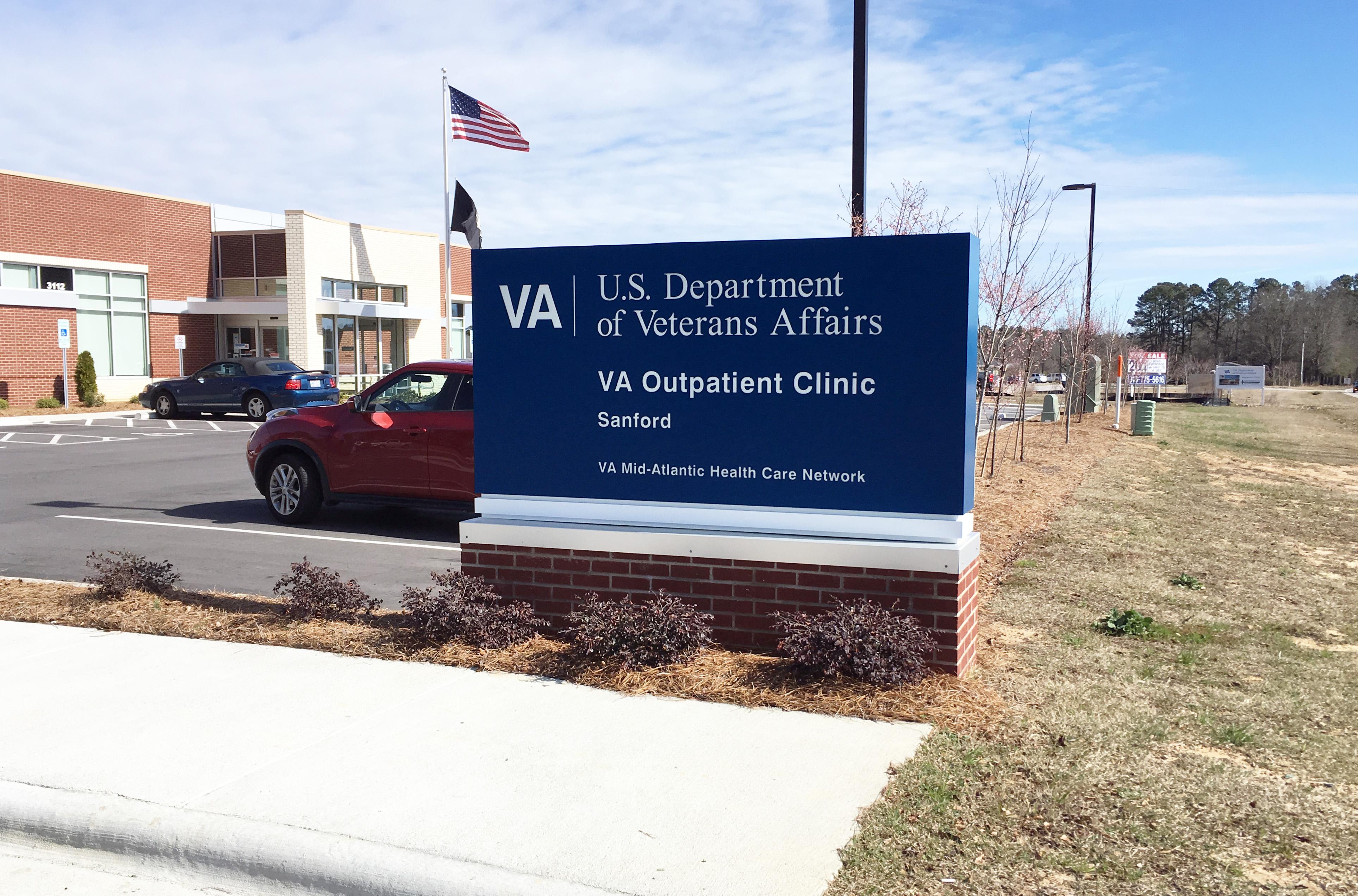 VA Outpatient Clinic - Sanford, NC - Advance Signs & Service