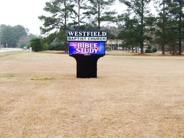 Westfield Baptist Church – Dunn, NC - Advance Signs & Service