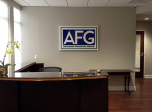 Advisors Financial Group -  Raleigh, NC - Advance Signs & Serice