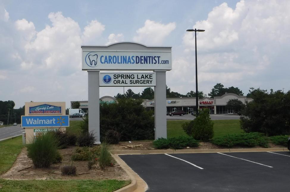 Carolina's Dentist – Spring Lake, NC - Advance Signs & Service