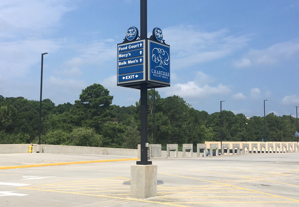 Crabtree Valley Mall – Raleigh, NC - Advance Signs & Service