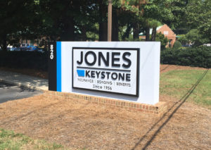 Jones Insurance - Garner, NC - Advance Signs & Service