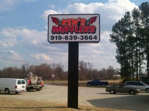 Ken's Mufflers - Angier NC - Advance Signs & Service