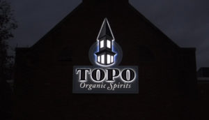 TOPO Organic Spirits  (NIGHT) - Chapel Hill, NC - Advance Signs & Service