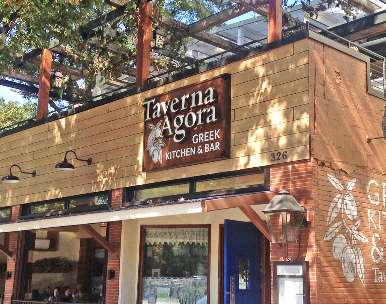 Taverna Agora - Raleigh, NC - Advance Signs & Service