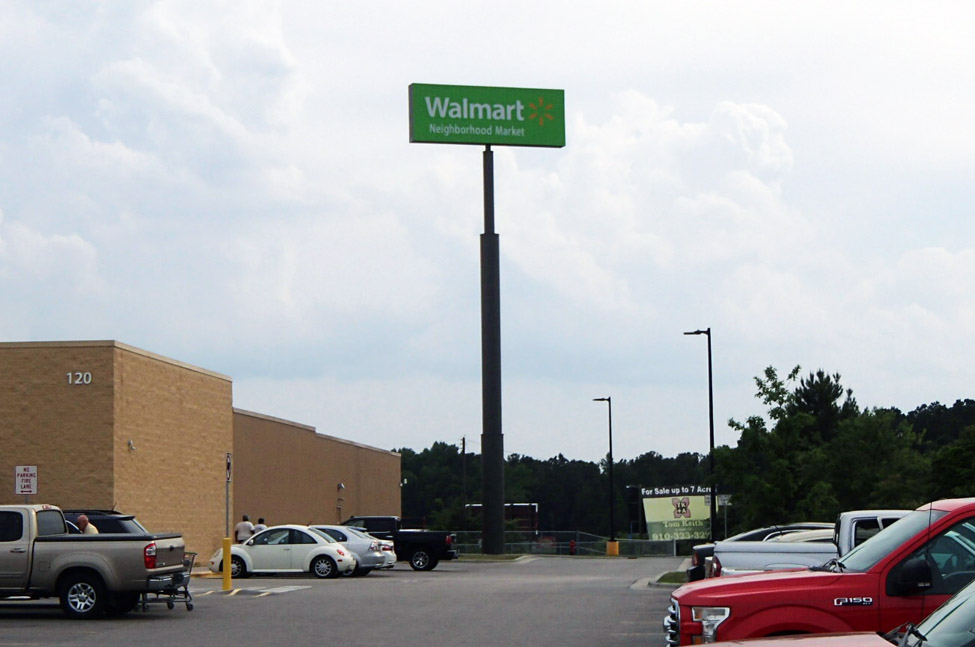 Walmart NHM - St. Pauls, NC - Advance Signs & Service